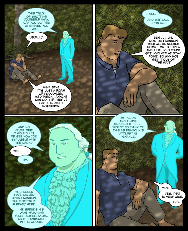 Comic for 17 January 2013: Everything gets creepy if you really think about it.