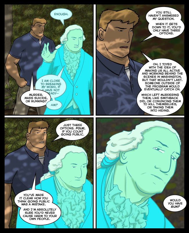 Comic for 31 January 2013: The shine of being lectured by a Founding Father wears off fast when Ben Franklin is your effective father-in-law.