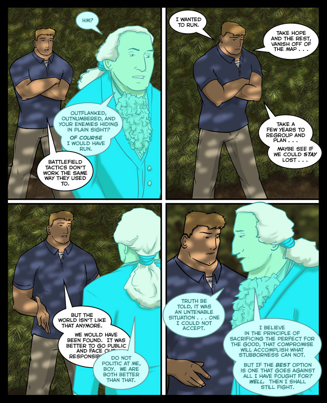 Comic for 04 February 2013: Washington has several hundred years' worth of calling people out on various snowjobs.