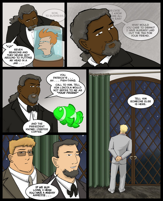 Comic for 29 August 2013: The ghosts watched each week, hoping, fingers crossed for a cameo...