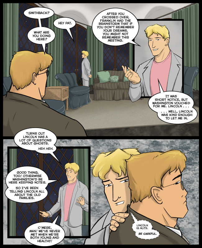 Comic for 03 September 2013: Pink + gray = 80S MIAMI!