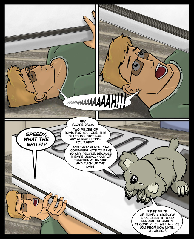 "Comic for 10 October 2013: Never Google ""back of refrigerator"" for image references unless you want to spend four hours throwing up."