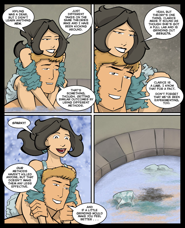 Comic for 04 November 2013: And then they drowned.