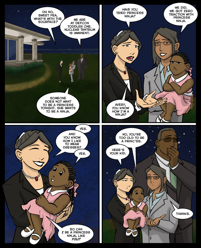 Comic for 11 November 2013: Comic storyline cancelled. I'm just drawing four panels of Adorable Avery Sourface from now on.