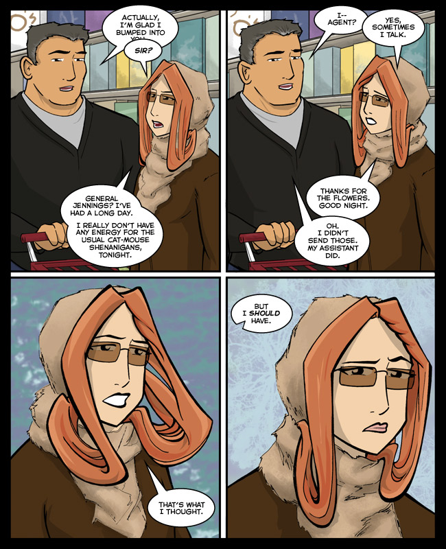 Comic for 10 March 2014: Crouching tigress, hidden snapdragon.