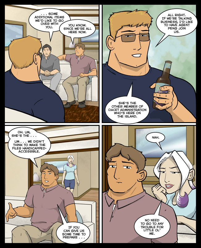 Comic for 05 June 2014: Pop goes the Aussie