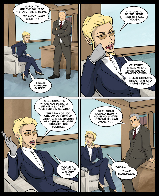 Comic for 13 November 2014: Oh my, zing!
