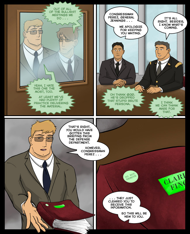 "Comic for 27 July 2015: Around OACET, they refer to these meetings as ""green tape""."