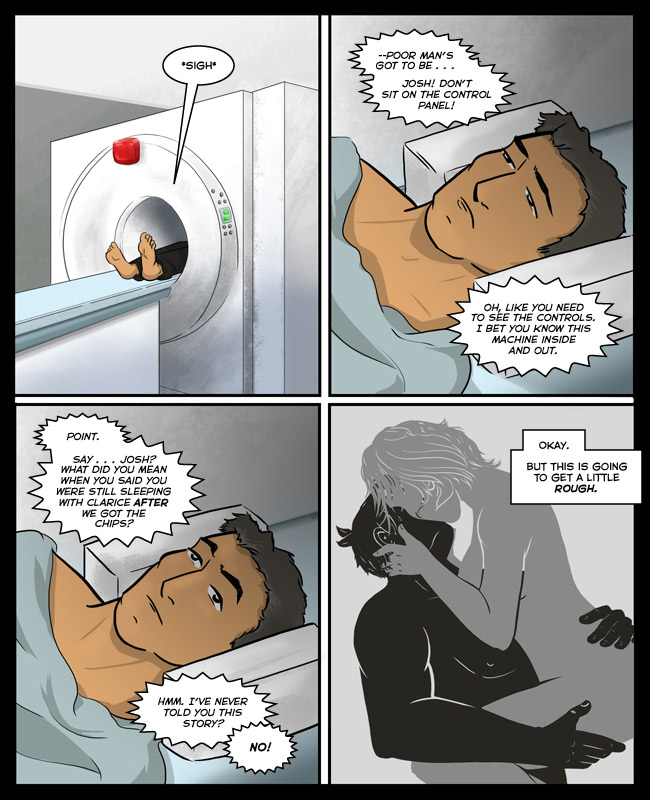 Comic for 07 September 2015: Ain't no flashback like a Josh Glassman flashback 'cause a Josh Glassman flashback is Pay-Per-View.