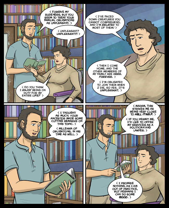 "Comic for 11 December 2016: ""A politician and a lawyer! Well, I guess I'm saved then."""