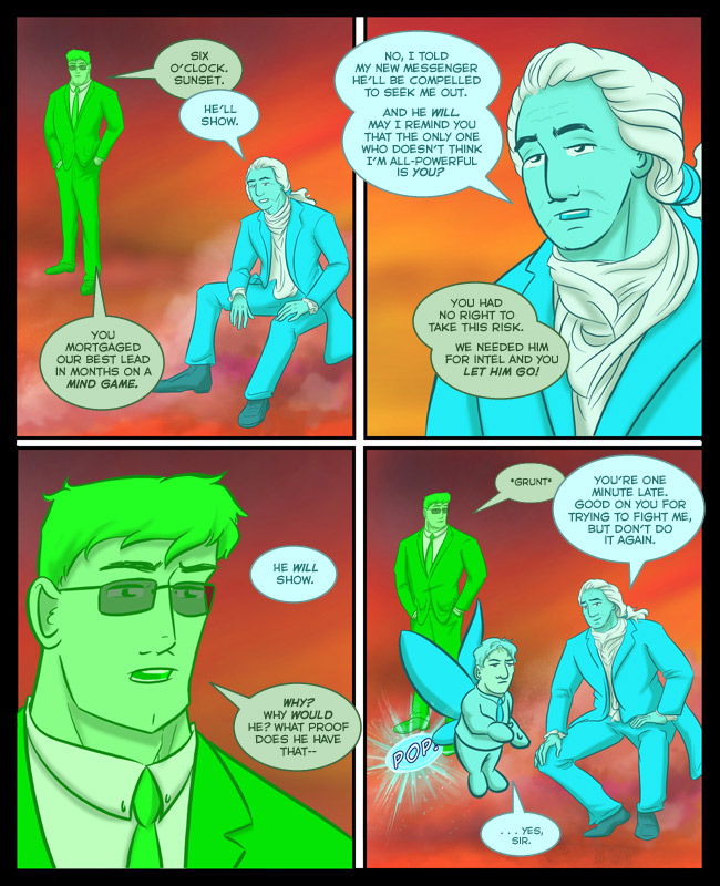 Comic for 26 April 2017: Wait, did George mean Eastern Standard Time? Central Pacific? Greenwich Mean?! CURSE THIS GLOBALIZED PLANET!