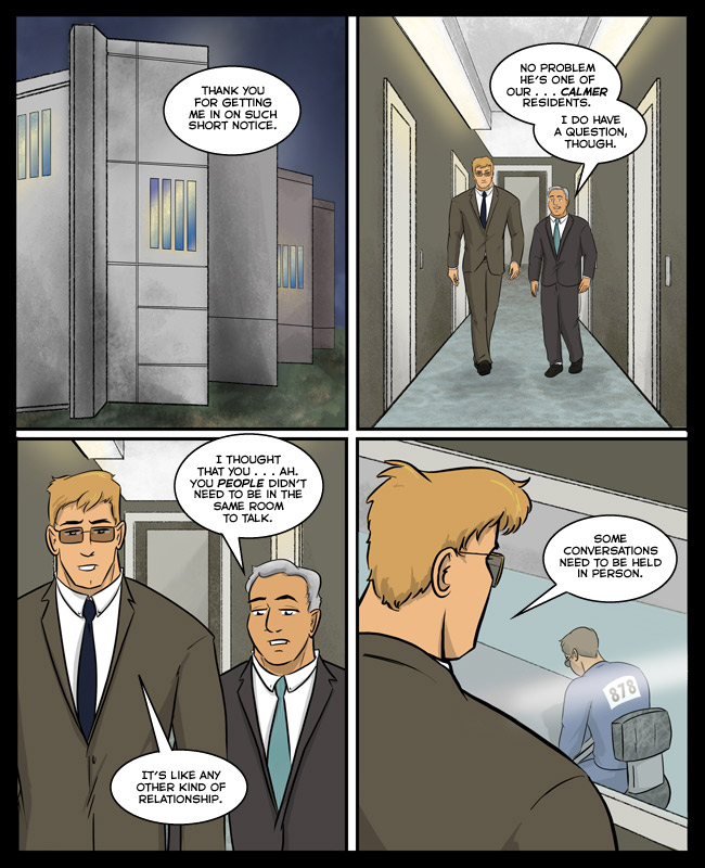 Comic for 21 January 2018: Maximum security prisons have intentionally scary interior and exterior designs.