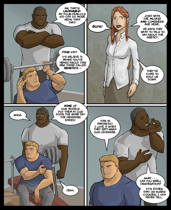 Comic for 30 November 2010: Hey look!  It's plot!  Hi plot!