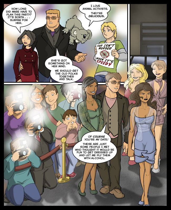 Comic for 28 February 2011: The Oscars and Google Image Search is the nexus of ridiculous fashion design