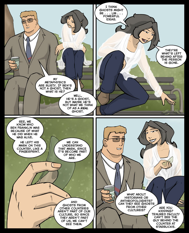 Comic for 03 October 2006: AKA: Graduate students