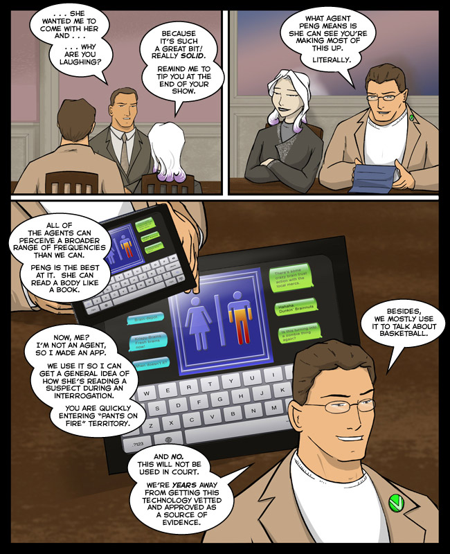 Comic for 26 March 2012: The app is $1.99 in the Apple Store, but the peripherals are hellishly expensive.