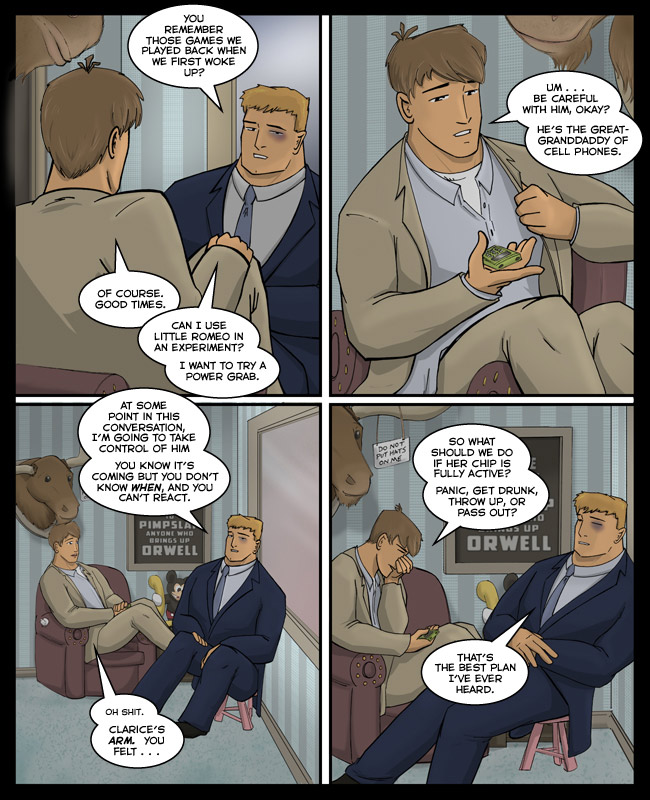 "Comic for 05 April 2012: Sure it sounds like a euphamism Josh might use, except for the ""little."""