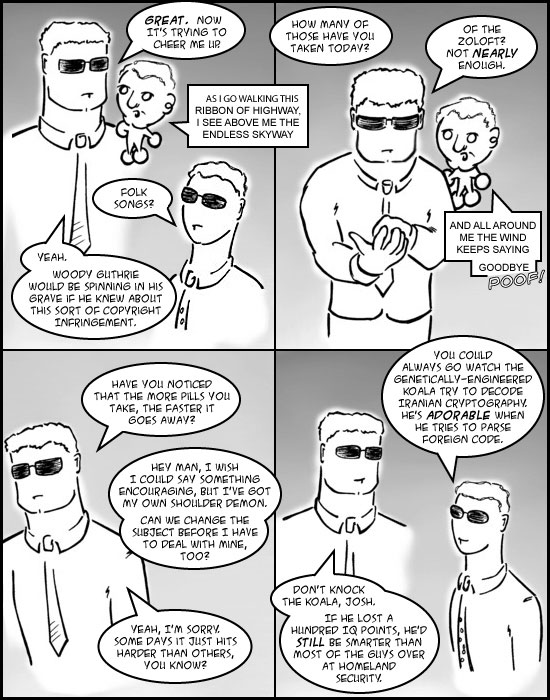 Comic for 29 March 2006: Introduction Comic 6